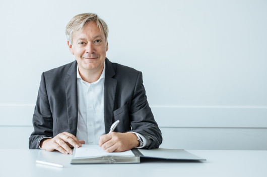 Frank Strecker ist SVP Public Cloud Managed Services bei T-Systems. / © KUKA